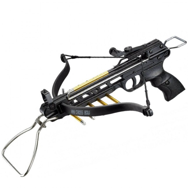 Pistol crossbow 80 lb sale online camping and outdoor for Fishing crossbow pistol